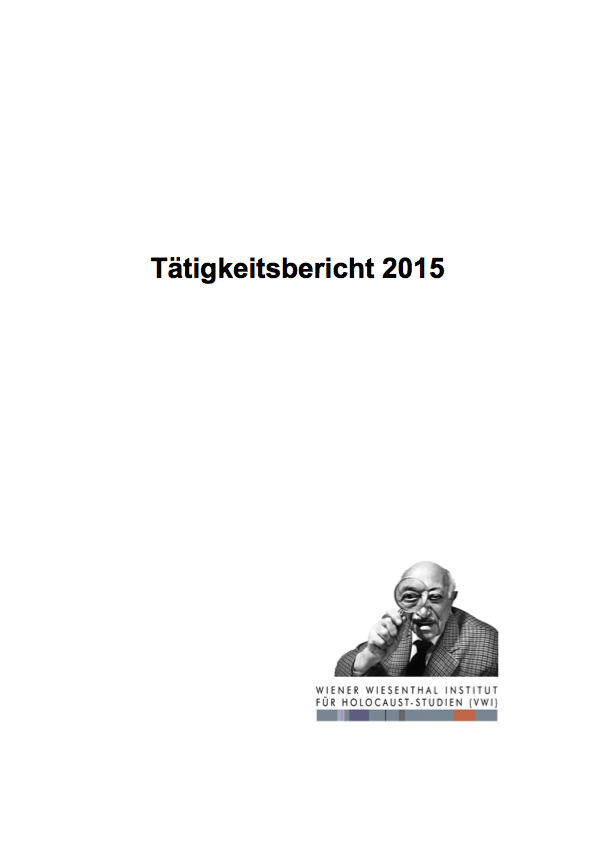 VWI Taetigkeit2015 FINAL Cover