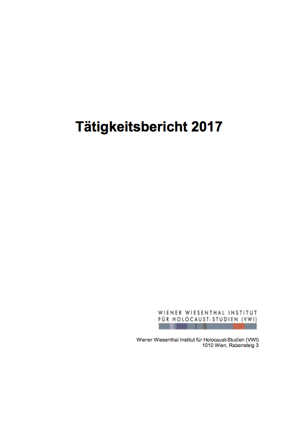 VWI Taetigkeit2017 FINAL Cover